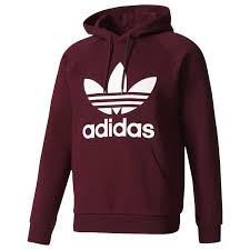 addidas sweater adidas originals trefoil hoodie s casual clothing