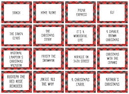 christmas charades game and free printable roundup a and a