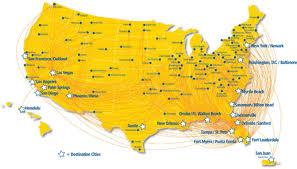 Fort Walton Beach Map Popular 169 List Allegiant Flight Map