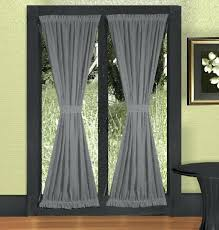 blackout door curtains imposing design french door curtains