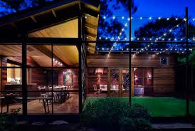Patio String Lighting Ideas by South Austin Porch