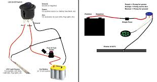 atv led light wiring diagram atv wiring diagrams instruction