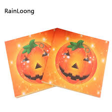 halloween party packs popular halloween napkins buy cheap halloween napkins lots from