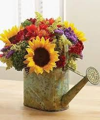 Centerpieces With Sunflowers by Decorating With Sunflowers Sunflowers Kitchens And Apartments