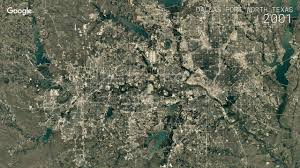 Dallas Fort Worth Area Map by Google Timelapse Dallas Fort Worth Texas Youtube