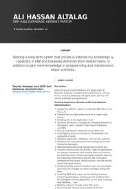 Admin Resume Examples Database Administrator Resume Samples Visualcv Resume Samples