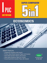 amazon in buy 5 in one 1st puc economics english medium book