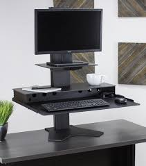 Laptops Desk The Duke Platform Desktop Standing Desk For Laptops
