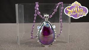 halloween light up necklaces sofia the first musical light up amulet from just play youtube