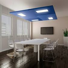 faux plafond led faux plafond en tissu en îlot en panneaux acoustique