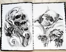 flash 2016 fish flash book a4 size skull