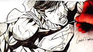 desenhando o superman 2011 version drawing superman hq art