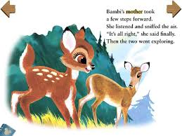 bambi disney app apps kids ipad iphone ipod