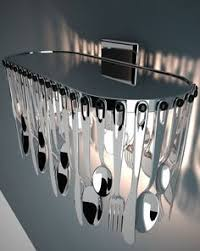 Cutlery Chandelier Hungry D76 A03 Large Cutlery Chandelier From Fabbian Diy