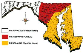 Maryland mountains images Maryland geography gif