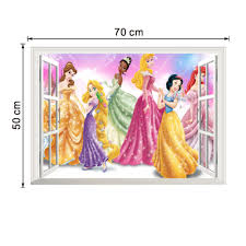 stickers home decor picture more detailed picture about little little princess wall stickers home decoration for girls kids room cinderella wall decals art anime posters