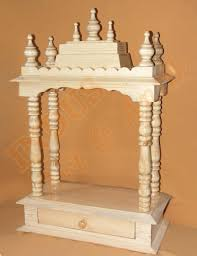 Marble Temple Home Decoration by Code 51 Wooden Carved Teakwood Temple Mandir Wooden Wooden Temple