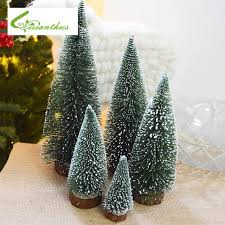 tree decoration supplies small pine tree desktop
