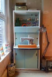 1950 u0027s cabinet makeover my new craft station lulastic and the