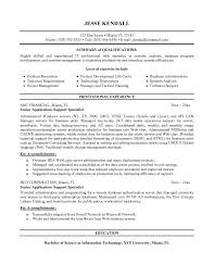 Sample Resume For Application Support Analyst by 28 Application Support Resume Sample Resume Samples It