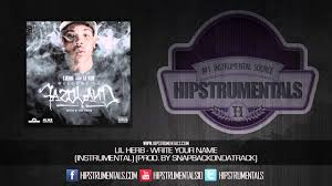 lil herb write your name instrumental prod by