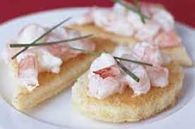 canape recipes shrimp canapés kraft recipes