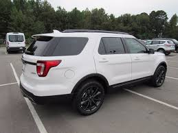 Ford Explorer Body Styles - 2017 new ford explorer xlt fwd at landers ford serving little rock