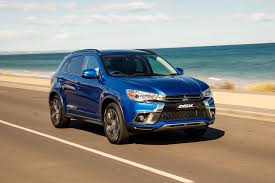 mitsubishi suv blue 2018 mitsubishi asx pricing and features