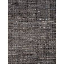 Flat Weave Cotton Area Rugs Flatweave Solid Pattern Black Gray Cotton Area Rug 9x12 Free