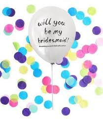 will you be my bridesmaid boxed will you be my bridesmaid balloon free shipping made you