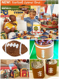football party ideas football birthday party for boys via diannakennedy ideas for