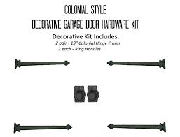 Garage Door Decorative Kits 360 Yardware