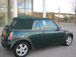 56 reg 2006 mini cooper convertible manual 1 owner met green
