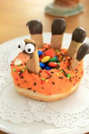 turkey doughnuts for thanksgiving crafts a la mode