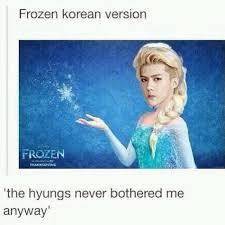 Elsa Memes - cr facebook exo admin mei lu sehun s exo as elsa in frozen 3
