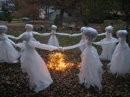 outdoor halloween decoration ideas homemade cheap diy outdoor