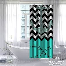Chevron Pattern Curtains Infinity Live The Life You Love Chevron Pattern With Nautical