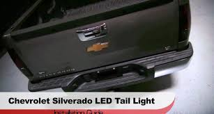 2007 chevy silverado tail lights spyder auto installation 2007 13 chevrolet silverado led tail