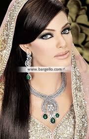 silver bridal necklace images Stylish pakistani bridal jewelry sets orlando florida usa silver jpg