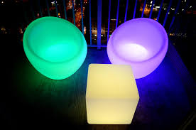 led chair 16 different colors indoor outdoor furniture