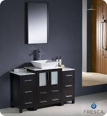 Bathroom Vanities With Bowl Sink Single Vanities 48 To 60 Inches Single Vanities
