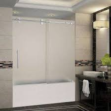 Frameless Shower Doors For Bathtubs Aston Bathtub Doors Bathtubs The Home Depot