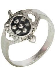 religious rings silver black turtle fashion ring religious rings catholic