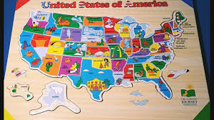 Map Of Usa With States And Capitals by Kids Do And Learn Usa States And Capitals Puzzle Improves