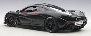 mclaren p1 concept amazon com mclaren p1 matt black with red accents 1 18 by autoart