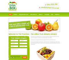 fruit delivery company web design pontefract portfolio of till pontefract west