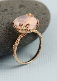 quartz engagement ring best 25 quartz ring ideas on pretty rings