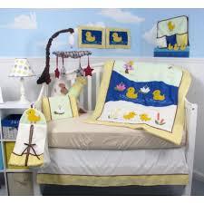 Duck Crib Bedding Set Soho Baby Quack Quack Duck Crib Nursery Bedding Set 14 Pcs
