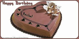feliz cumpleaños rachel greetings cards for birthday for