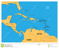 Map De Central America by Belize Is A Small Country Of 8867 Square Miles That Sits On The